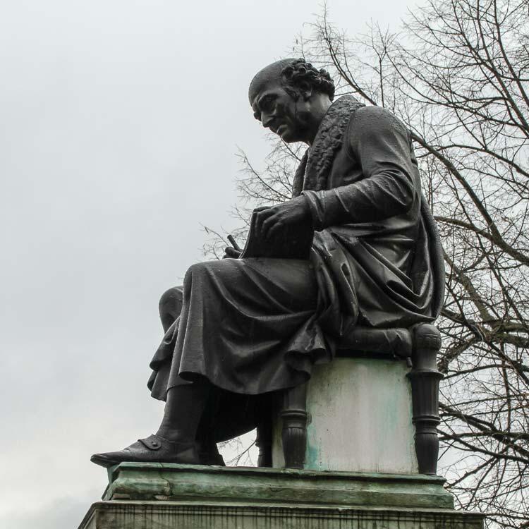 Hahnemann Denkmal Leipzig